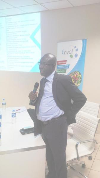 Laboratoire ENVAL, Abidjan 22 avril 2015