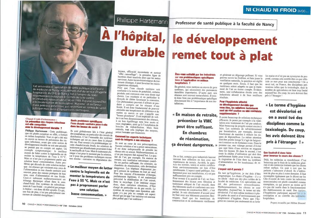 A l'hôpital, le développement durable remet tout à plat